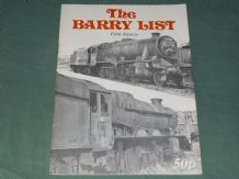 BARRY LIST 5th Ed : THE (1979)
